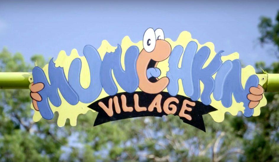 The Munchkins village